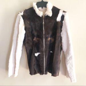 Pelle Studio Wilson leather fur jacket Argentina